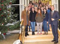 Jugendparlamente des Kreises Olpe mit dem Landtagsabgeordneten Jochen Ritter