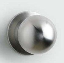 Pomo de acero inoxidable para puerta de entrada