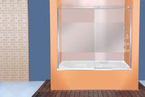 Mamparas baño Barañain