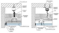 Пример звукоизоляционных потолков по технологии Knauf