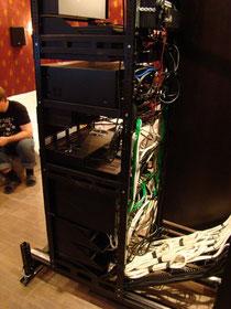 Организация кабельной сети в стойке MiddleAtlantic