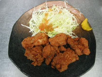 半唐揚げ(鶏肉6個)