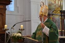 Hl. Messe mit Bischof Schwarz