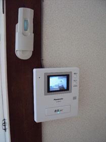 テレビドアホンと 照明リモコン