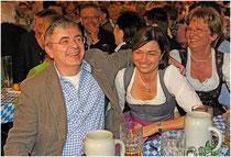 Bürgermeister Franz Krah mit Lebensgefährtin Trixi