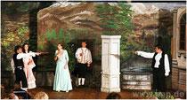 Szene aus dem Theatersück auf der Pockinger Seebühne