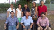 Gruppenbild der neuen Vorstandschaft der Laienbühne Pocking e.V.