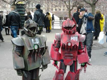 コスプレロボット
