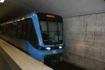 スウェーデンの地下鉄駅