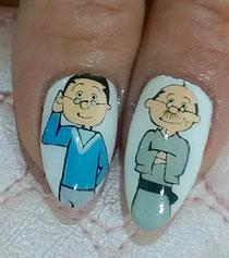マスオさんと波平さん