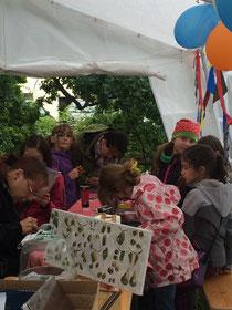 675 Jahresfeier Harthau Malkurs:Harthau malt seine Türme in 3D 6/2015