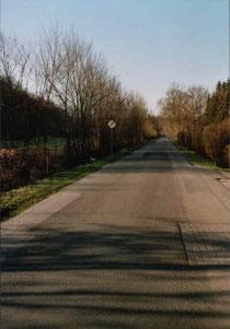 Krötenzaun an der Parkstraße
