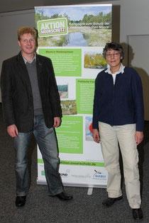 Dr. Holger Buschmann mit Susanne Grube vom BUND Ammerland