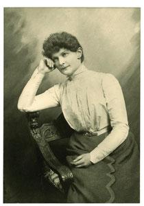 Marie von Sivers, ca 1900