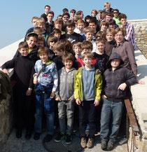 Die Sänger auf der Burg in Bratislava