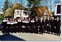Der Knabenchor auf der Holland-Konzertreise in Breda