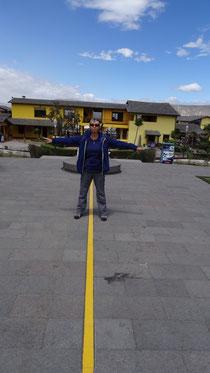 La ligne de l'Equateur