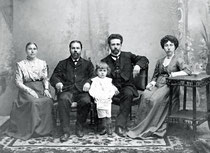 1910 год. Мой дед с родителями, бабушкой и дедушкой