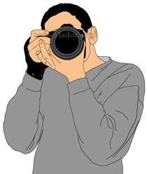 Как держать фотоаппарат?