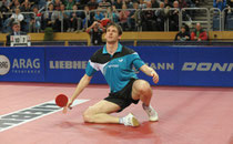 Im ersten Moment konnte er es selbst kaum glauben: Steffen Mengel ist Deutscher Meister 2013 (©Roscher)
