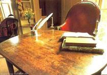 リンカーン大統領の机と椅子