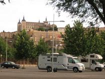 Parkplatz am Busterminal Toledo