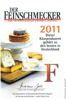 Der Feinschmecker 2011