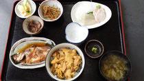 ウニ丼定食