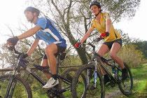 Mountainbiker im Oberpfälzer Wald