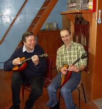 А. Цыганков и Е.Сержантов