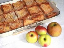 SCheiterhaufen mit Äpfeln