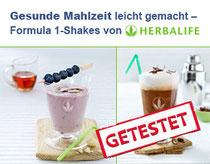 Getestet: der Formula 1 Shake von Herbalife