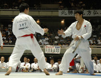 Japon 2004 Kobayashi Senseï contre Okuma Senseï