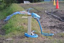 LブロックL17区画の給水蛇口