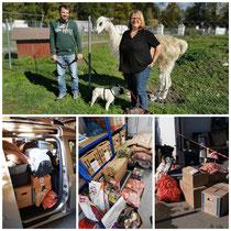 Übergabe Spenden an den Argenhof in Amtzell von Christiane Rohn