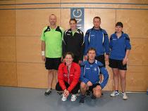 Foto - hinten von links: Werner Broschk, Bianca Breuer, Christian Kroneis, Marina Plutz vorne von links: Jutta Olschewski, Frank Olschewski
