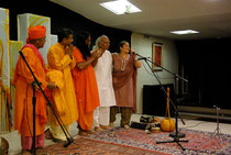 CHANT DHRUPAD & CHANTS BAULS Ustad H. Sayeeduddin DAGAR Anando Gopal Das Baul pour un concert improbable à la Maison de l'Inde