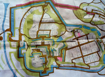 佐倉城の縄張り