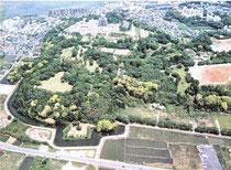 佐倉城跡の現在の姿全景