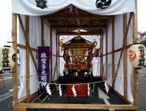 麻賀多神社の大神輿