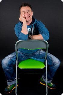 Kabarettist Steven Förster
