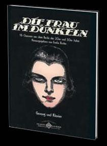 Cover Notensammlung Die Frau im Dunkeln