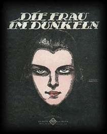 """Originalcover zur Operette """"Die Frau im Dunkeln"""""""