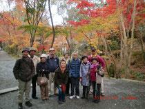 イベント「神峯寺の紅葉狩り」