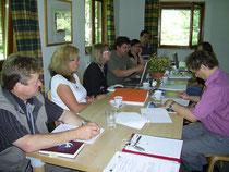Erste Arbeitsgruppensitzung 2011