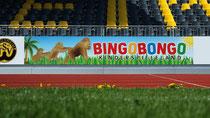 Bandenwerbung Stadionwerbung Bingo Bongo Kinderspieleland von Rundumwerbung Andreas Trump Crailsheim