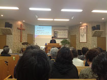 宣教区女性の集いの様子