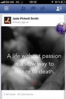 Jada Pinkett Smith stolen sex pict, violacion derechos de autor