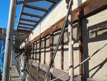 構造梁の補強状況