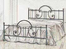 кровать купить в тюмени кованая